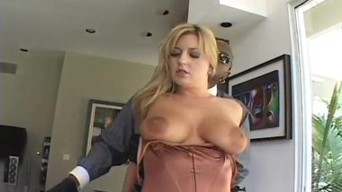 juicy blonde milf big tits fucked with black cock