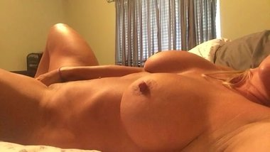 Hot Milf playing alone