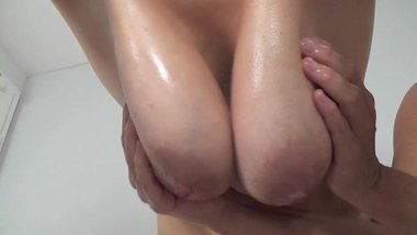 Busty Tina - Breast massage (SC please don't delete)