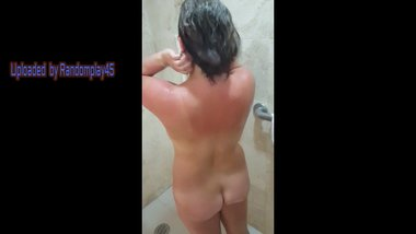 Up close Shower Compilation of my Wife