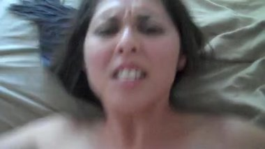 Fucking my wife till she cums hard