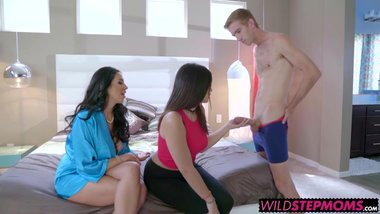Wild threesome with the hot latina stepmom Missy Martinez