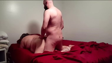 BBW Wife gets fucked and pussy eaten