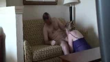Cheating BBW MILF in hotel room