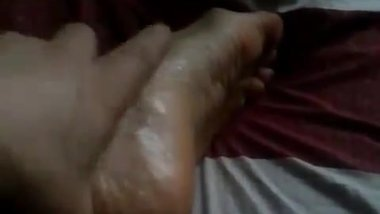 Wifes feet soles