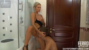 Ninette - Hot Russian Mom in shower 2 (2011)