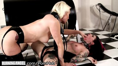BurningAngel Anal BDSM with Hot Cougar