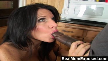 RealMomExposed - Kendra goes wild over the plumber's huge cock