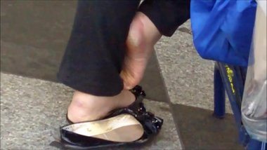 Well Worn Flats & Soles Foreign Mature Hellen