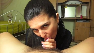 Mature Blow and Swallow