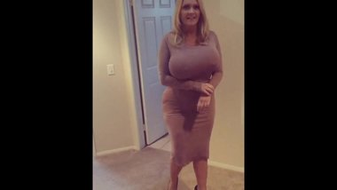 Allegra Cole Epic Blonde Milf with Huge Fake Tits Music Video Number Two