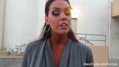 Alison Tyler talks about her fitness competition