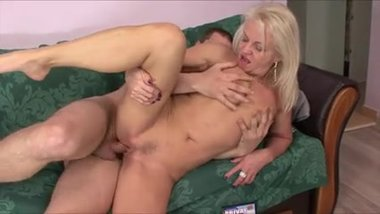 Hot Milf gets young cock
