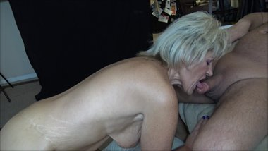 MILF Mrs Zonie Sucking a Fat Cock Before Bending Over for a Rough Fuck