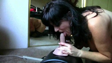 Dominique's Ass and Pussy Licked, Sybian Orgasm