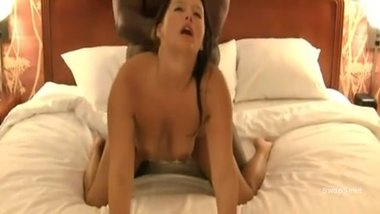 horny cougar fuck a big black cock while husband films