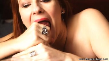 Real Romantic Blowjob MILF