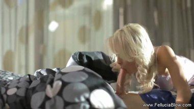 Blonde Morning Blow From Fellucia