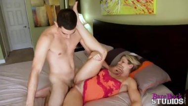 horny son seduce mom